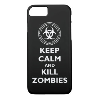Kill Zombies iPhone 7 Case