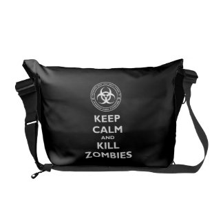 Kill Zombies Messenger Bag