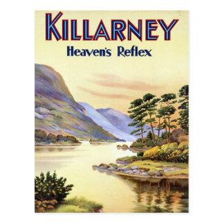 Killarney, Heaven's Reflex Postcard