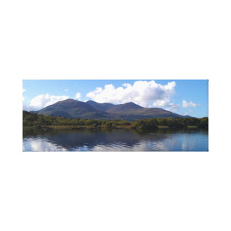 Killarney Island view in Ireland Canvas Print