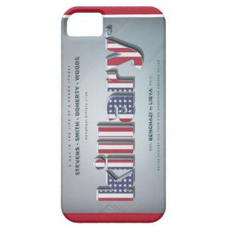 Killary Crooked Hillary Benghazi TRUMP 4 PRESIDENT iPhone 5 Case