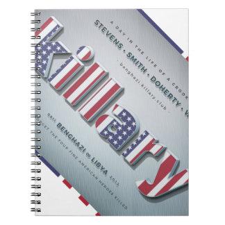 Killary Crooked Hillary Benghazi TRUMP 4 PRESIDENT Notebooks