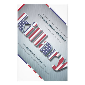 Killary Crooked Hillary Benghazi TRUMP 4 PRESIDENT Stationery