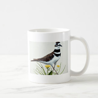 Killdeer  flowers coffee mug