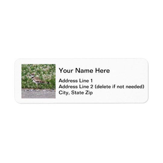 Killdeer Return Address Label