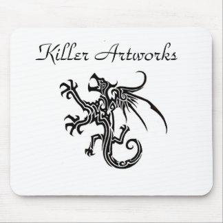 Killer Artworks Dragon Mousepad