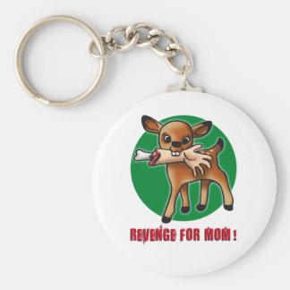 Killer Bambi Basic Round Button Key Ring