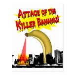 Killer Bananas! Post Cards