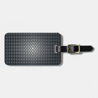 Killer Black Diamond Design Luggage Tag