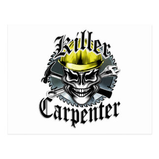 Killer Carpenter Postcard