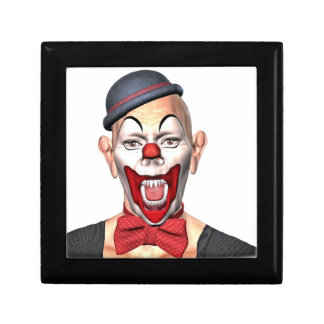 Killer Clown looking to the front Gift Box