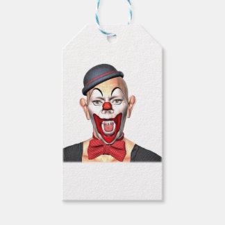 Killer Clown looking to the front Gift Tags