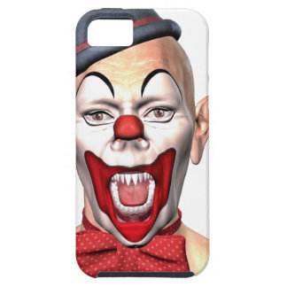 Killer Clown looking to the front Tough iPhone 5 Case