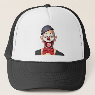 Killer Clown looking to the front Trucker Hat