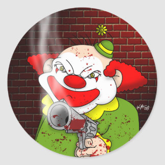 Killer Clown Stickers