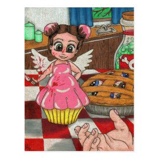 Killer Cupcakes Postcard