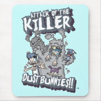 Killer Dust Bunnies Mouse Pad