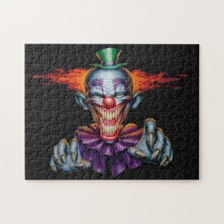 Killer Evil Clown Jigsaw Puzzles