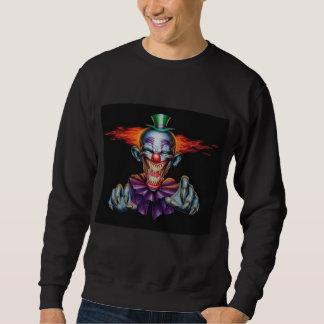 Killer Evil Clown Pull Over Sweatshirt