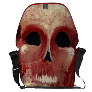KILLER HEAT WAVE (skull design) ~ Messenger Bags