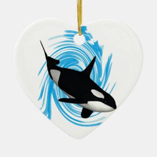 Killer Instincts Ceramic Ornament