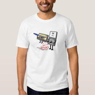 Killer Ipod Clipart (Cassette) Funny T-shirt