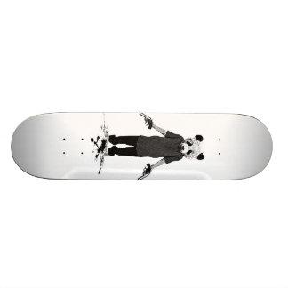 Killer panda custom skateboard