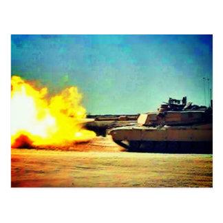 Killer tank postcard