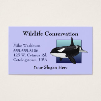 Killer Whale Business card