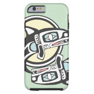 Killer Whale Circle Tough iPhone 6 Case