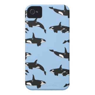 Killer whale iPhone 4 Case-Mate case