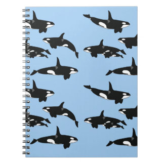 Killer whale notebook