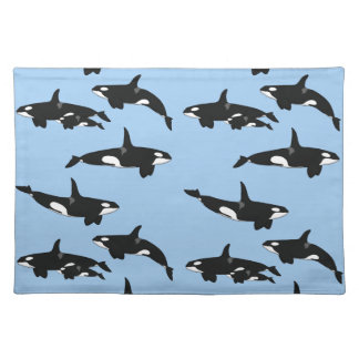 Killer whale placemats