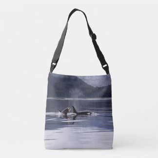 Killer Whales Crossbody Bag