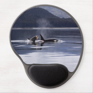 Killer Whales Gel Mouse Pad