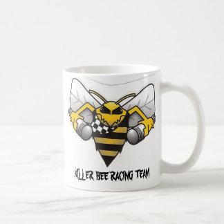 killerbee_logo, KILLER BEE RACING TEAM Basic White Mug