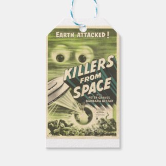 Killers from Space Gift Tags