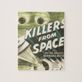 Killers from Space Jigsaw Puzzle