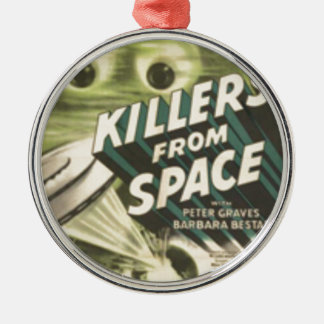 Killers from Space Metal Ornament