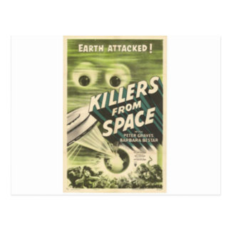 Killers from Space Postcard