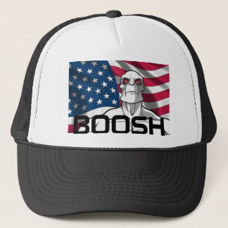 killface boosh trucker hat