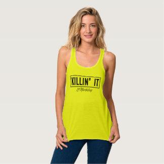 Killin It' Racerback top 72marketing Sexy Flowy