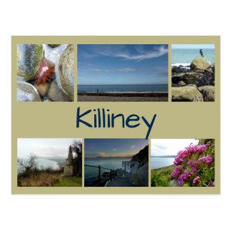 Killiney Collage Postcard