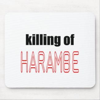 KILLING HARAMBE MEMORIAL SERVICE harambeismad inno Mouse Pad