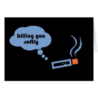 Killing you softly card