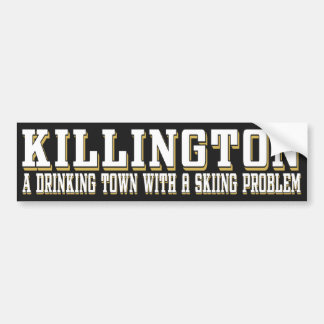 Killington Drinking & Skiing Sticker