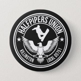 Killington Halfpipers Union 7.5 Cm Round Badge