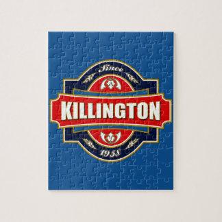 Killington Old Label Jigsaw Puzzle