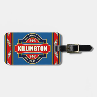 Killington Old Label Luggage Tag