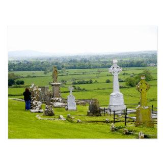 Killkenny, Ireland. The dramatic Spectacle of Postcard